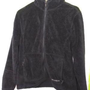 Marmot Fluffy Full Zip Hooded Fleece Jacket